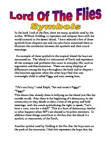 lord of the flies darkness of a mans heart essay We will write a custom essay sample on lord of the flies it can release the true darkness of man in the novel lord of the flies, by william which foreshadows simon's death when the darkness of the night and in the boys' heart eventually came to him when simon talked to the lord of.