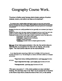 as-level geography coursework