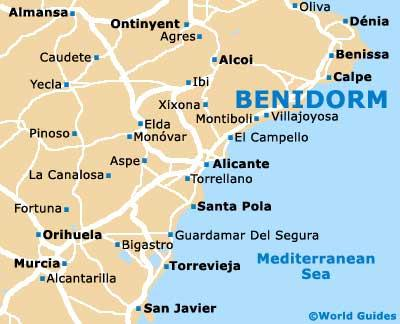 The Impact of Tourism on Benidorm GCSE Geography Marked by