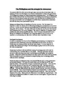 Essay About Country Philippines Profile - image 11