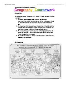 Geography coursework methodology:?