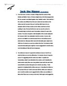 Jack the ripper coursework questions