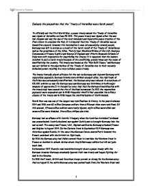 treaty of versailles essay essay Words: 459 length: 1 pages document type: essay paper #: 43762596 although there is still some controversy among historians whether the treaty of versailles was too harsh or too conciliatory, it seems obvious now, with benefit of hindsight, that with a little bit of improvement the treaty could have worked.