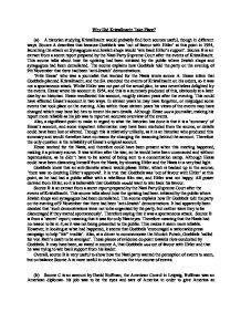 kristallnacht essay