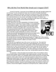 Comparative Essay Thesis Statement Why Did The First World War Break Out In  English Essay also Samples Of Persuasive Essays For High School Students Revision Notes  History Of First World War And The Role Of Women  English Essays Samples
