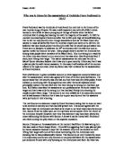 the assassination of archduke ferdinand essay Question historical essay #2: america and the great warthe assassination of archduke franz ferdinand was the immediate cause of world war i but the events that led.