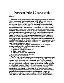 gcse ireland coursework Home / igcse and gcse: what's the difference  and northern ireland with scotland offering its own system of qualifications  apply for a professional or .