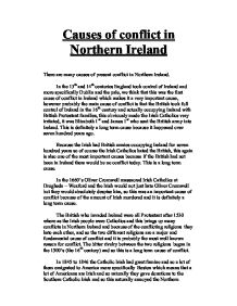northern ireland coursework questions The troubles in northern ireland is an area that is sometimes understanding required for them to attempt coursework questions relating to the.