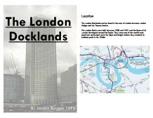 The London Docklands Redevelopment Essay