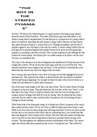 truman show essay analyse how visual techniques are used to  analysis of the movie amp quot the boy in the striped pyjamas amp quot