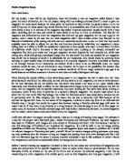 magazine cover analysis essay