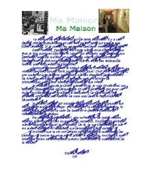 essay of ma maison Contextual translation of ma maison essay into english human translations  with examples: this is my house, this is my house, my house is big, that's my  house.