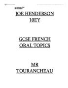 Help with GCSE french coursework about healthy lifestyle?