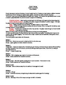 Gcse pe coursework section 1
