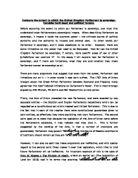 Parliamentary sovereignty essay