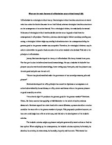 utilitarianism essay introduction Utilitarianism vs kantianism in this assignment, you will apply utilitarianism and kant's moral theory to a situation from your own life 1select a situation in.