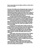 Student written essay on buddhism