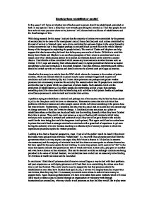 essay on capital punishment should not be banned Capital punishment should be abolished | band 7 essay sample by ielts practice this essay was submitted by one of our students it may contain in reality, there has been no established pattern that would support the claim that capital punishment serves as a tool to reduce murder cases for example.