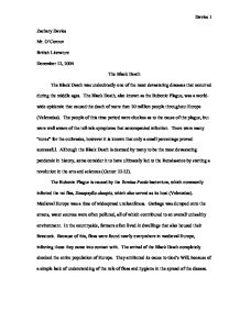 black plague essay conclusion Get help with writing your bubonic plague essay papers check example of gcse coursework, reflective essay and mba essay download free essay sample.