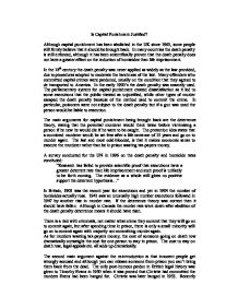 capital punishment should abolished views shared between u Capital punishment should be abolished (2006, may 17) in writeworkcom retrieved 12:33, january 13 capital punishment should be abolished: views shared between utilitarians, egalitarians, altruists and supporters of the divine command theory.