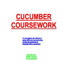 science osmosis coursework Social science essays (18, 383)  coursework - osmosis planning aim: to investigate what concentration of sucrose solution is isotonic to potato cell sap.