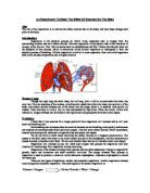 An analysis and experiment on the exercise effect on the heart rate