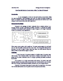 gcse biology coursework osmosis in a potato Osmosis gcse coursework evaluation largest database of quality sample essays and research papers on osmosis potato gcse biology osmosis coursework investigate.