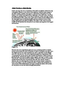 gcse science case study global warming