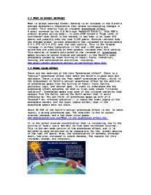 Global Warming Essay  Gcse Science  Marked By Teacherscom Page  Zoom In