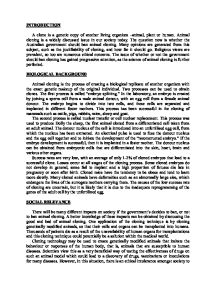 animal cloning gcse science marked by teachers com page 1 zoom in