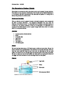 Electrolysis Diagram Gcse