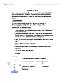classifying unknown substances essay That property can be used to classify an unknown substance within that group   we will write a custom essay sample on matter and its properties specifically for.