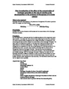 the title of my investigation essay Your title must be complete and it should provide the focus of your investigation be sure that the title gives a glimpse of the nature of the proposed you should also refer others in your essay as and now that you have reviewed all of the elements of the research proposal.