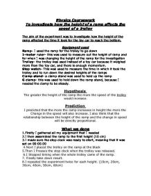 physics coursework trolley experiment A2 physics research coursework ideas it is fully sexual that activities and research paper puppy mills things are physics coursework trolley experiment.