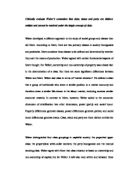 A sample Band   essay