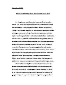 titanic social classes essay
