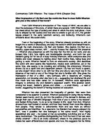 A journey edith wharton analysis essays