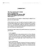 ib price floors commentary essay