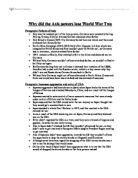 World War 2 Paper Essay