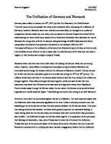 unification of germany essays