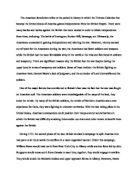Revolutionary war essays