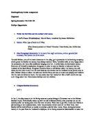 Epistolary Essay