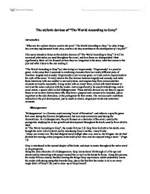The World According to Garp Essay