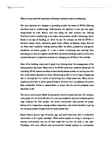 Hvac Air Conditioning Essays - image 3