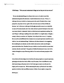 example tok essay co example tok essay