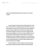 extended essay how do social class and gender affect the pursuit  tok essay 3