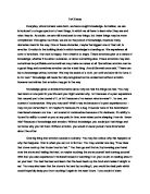Conclude tok essay
