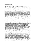 The Crucible Act 1 Summary Notes. - International Baccalaureate ...