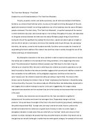 romanticism essay romanticism was a movement in the fine arts and  analysis of the train from rhodesia by nadine gordimer