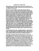 World literature essay ib